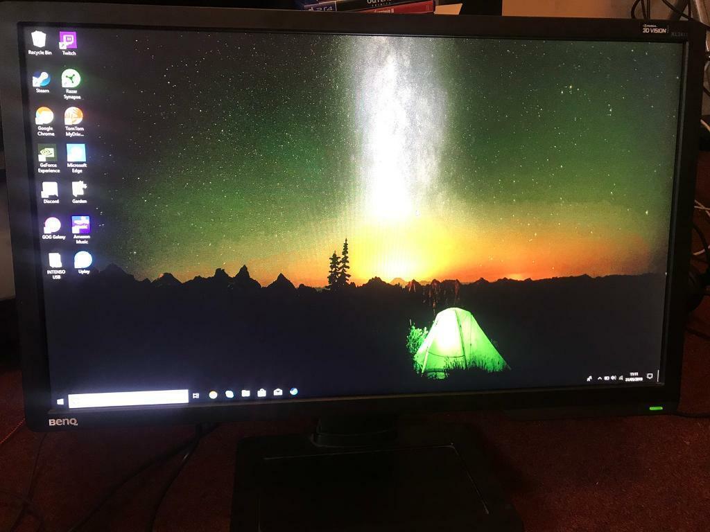 "Benq XL2411 24"" 1ms 144hz 1080p HDMI DVI gaming monitor | in Lisvane,  Cardiff | Gumtree"
