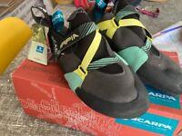 Scarpa Arpia women's climbing shoes