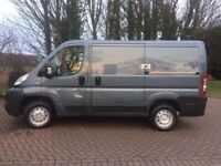 LOW MILEAGE FIAT DUCATO SIMILAR TO FORD TRANSIT OR CITROEN RELAY