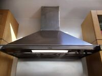 SMEG Chimney Cooker Hood stainless steel £75