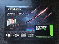 Asus gtx 760 directCU 11 OC