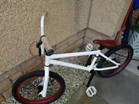 Boys White Customised Haro BMX Good Condition £80