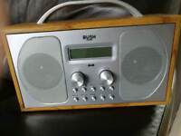 DAB radio as new.