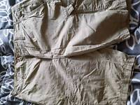 4 pairs of mens cargo shorts size 36w