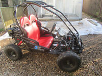 petrol off road buggy 5.5 H.P. / 156CC Hammerhead shark immaculate