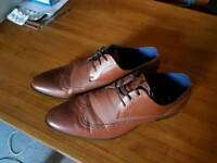 New look brown shoes. Size 10