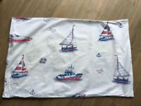 Nautical boats single bedding and mirror, Great Little Trading Company, lovely condition