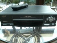 VHS recorder and player
