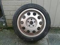 Audi a3 mk1,golf mk4, spare wheel