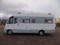 Mirage NewLife Motorhome for sale A Class Rear Lounge Drop Down Fixed Bed Rear u Shape lounge