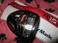 taylormade r15 driver golf club reg