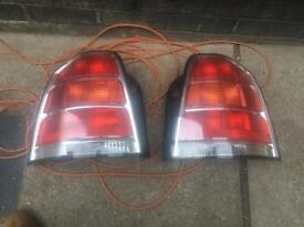 Vauxhall zafira Taillights