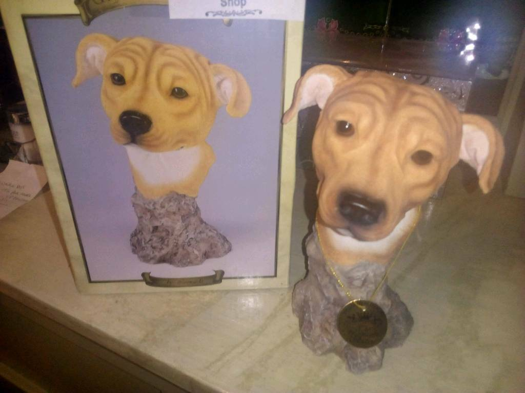 Leonardo dog ornament