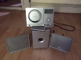 Teac hifi stereo system with ipod doc