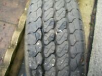 tyre and wheel 195r 14c
