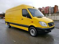 2007/57 MERCEDES SPRINTER 311 CDI LWB 6 SPEED MANUAL 110BHP LONG MOT TEST RUNS AND DRIVES VERY GOOD