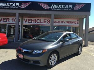 2012 Honda Civic EX 5 SPEED A/C SUNROOF ONLY 74K