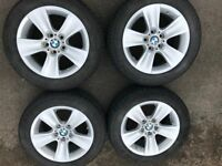 BMW 17 inch alloys with Continental TS830P Winter 225/55 R17 Tyres for 520D F10