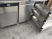2 door bench fridge commercial catering kitchen equipment restaurant catering business cafe fridge