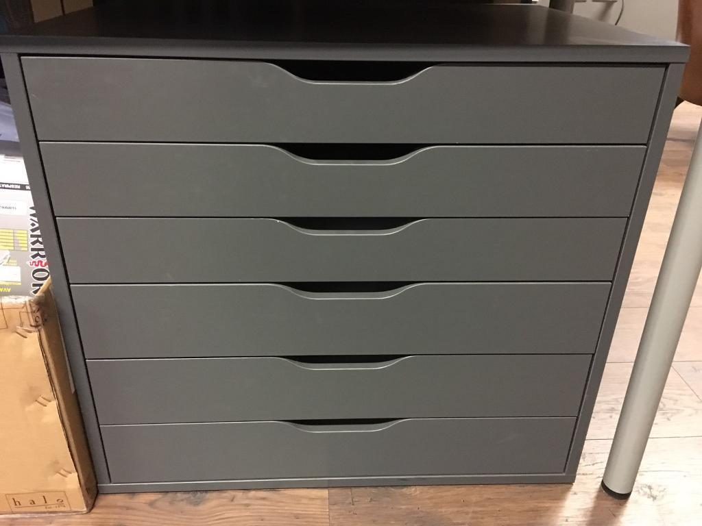 ALEX IKEA Grey A2 paper drawers in Sheffield, South Yorkshire Gumtree