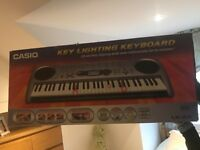 Casio Key Lighting Keyboard - Boxed, Bargain!
