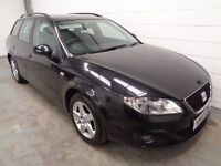 SEAT EXEO DIESEL ESTATE , 2010 , LOW MILES + FULL HISTORY , YEARS MOT , FINANCE AVAILABLE , WARRANTY