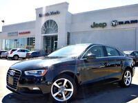 2015 Audi A3 2.0T Komfort Quattro Leather Sunroof Htd Frt Seats