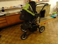 Buggie for up to two children