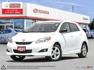 2014 Toyota Matrix One Owner, No Accidents, Toyota Serviced