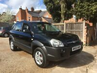 Hyundai Tucson 2.0 CRTD GSi 5dr, FULLY SERVICED WITH ALL ROUND NEW BREAKS, SATELITE NAVIGATION
