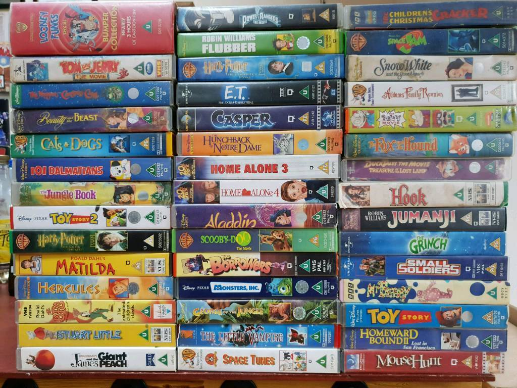 Vhs Video Tapes In Fareham Hampshire Gumtree
