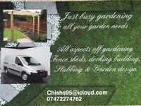 Just Busy Gardening Landscape Gardener - All your garden needs