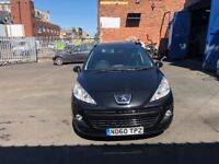 Peugeot 207 1.6 diesel MOT estate good condition very low mileage only 47,000 on the clock