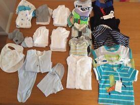 baby boy bundle (0-3m)
