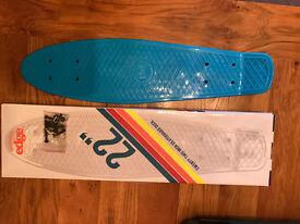 "Edge Skate board Deck 22"" New, never used"