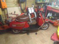 Vintage bike yamaha salient, perfect condition