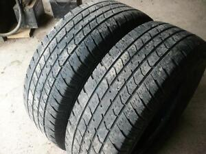 two 245-70-17 tires  $90.00