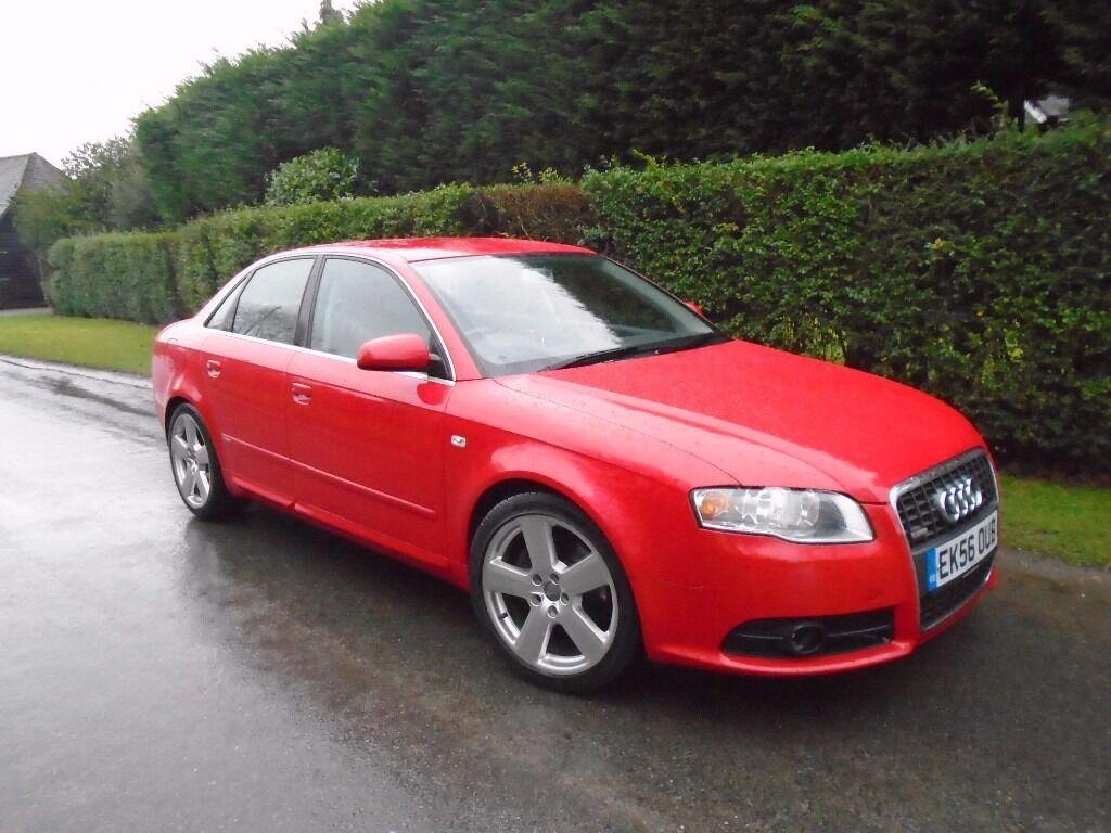 Audi A4 2.0 tdi - 2006 - S Line - 120k Miles - Bargain car - Runs well but DPF removed runs smoky.