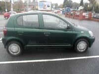 TOYOTA YARIS (SPARES OR REPAIRS)