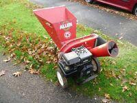 Allen chipper shredder 5 HP Petrol engine