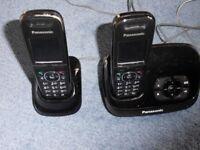 Panasonic KX-TG8522EB DECT Twin Digital Cordless Phone with answer machine