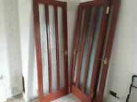 5 internal hardwood doors