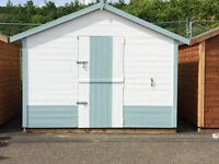 Attractive Beach Hut For Sale on Pakefield Beach, Lowestoft