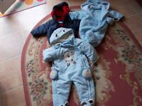 Bundle of 3 baby winter warmers age 9 - 18 months