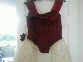 Donna solado wedding dress