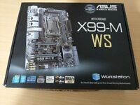 Asus X99-M WS LGA 2011-3 mATX Motherboard