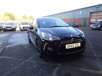 DS DS 3 1.6 BlueHDi 120 DStyle [Bluetooth, Dab Radio] 3dr (mauve/purple) 2015
