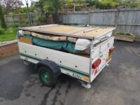Pennine Aztec 2001 Folding Camper with Awning - Great Condition