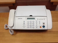Telephone and Fax Machine. Samsung SF340.