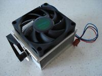 Heatsink Fan AMD MF064-074 3 Pin AJ608FC Socket 939